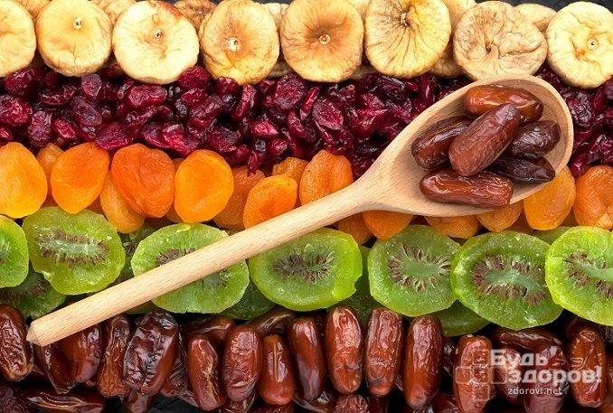 Сухофруктами можно заменить сахар и сладости