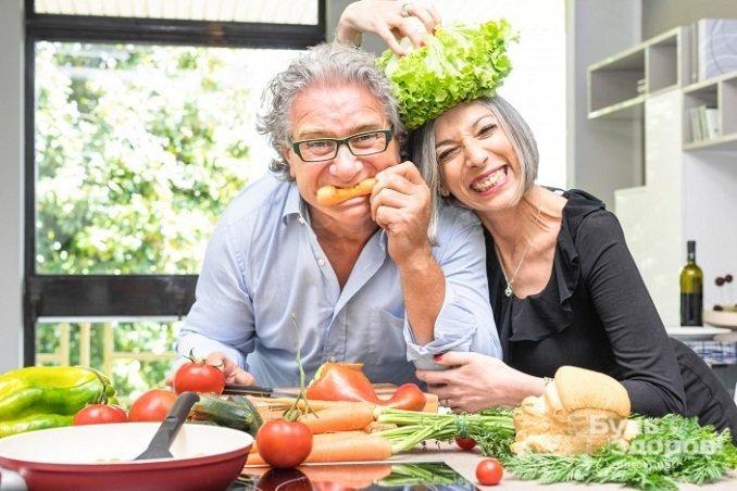Особое внимание питанию должны уделять мужчины старше 55 лет