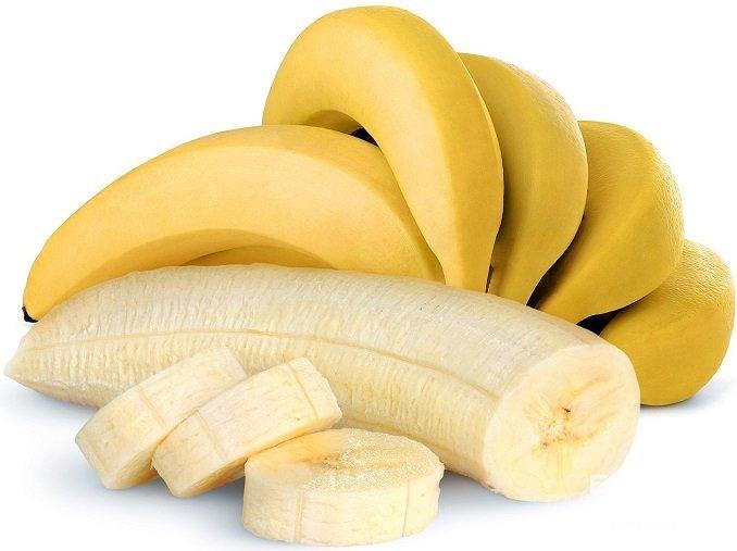 От бананов лучше отказаться, поскольку в них содержится большое количество сахара
