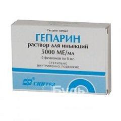 Гепарин - препарат, препятствующий свертыванию крови