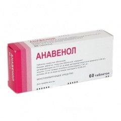 Анавенол в таблетках