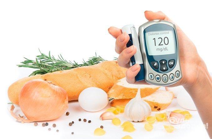 Продукты оказывают влияние на уровень сахара в крови