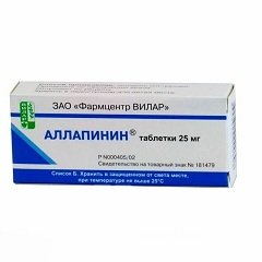 Антиаритмический препарат Аллапинин