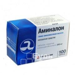 Аминалон - препарат, улучшающий обменные процессы в головном мозге