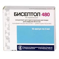 Бисептол (суспензия, ампулы и таблетки)