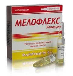 Отзывы цена и инструкция по применению препарата Мелофлекс