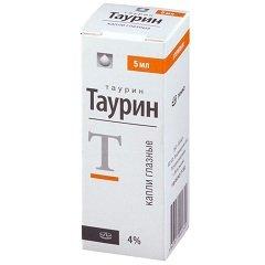 Глазные капли Таурин: инструкция по применению, цена, отзывы, аналоги, показания и противопоказания к применению