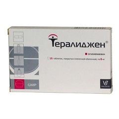 Тералиджен − инструкция по применению, отзывы, аналоги, цена, таблетки