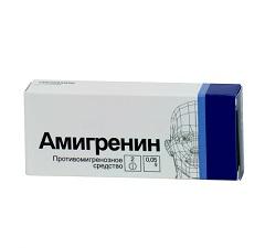 Амигренин – инструкция по применению таблеток, отзывы, аналоги, цена