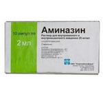 Аминазин цена от 129 руб, Аминазин купить в Москве, инструкция по применению, аналоги, отзывы