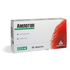 От чего Амлотоп Инструкция по применению цена аналоги и побочные действия