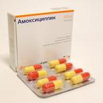 Амоксициллин (Amoxicillin) - инструкция по применению, состав, аналоги препарата, дозировки, побочные действия