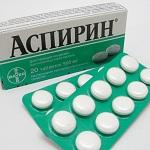 Аспирин фармакологическое действие
