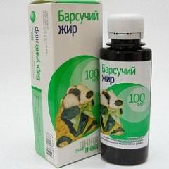 Барсучий жир препараты