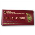 Таблетки белластезин инструкция