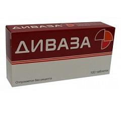 Диваза цена в Томске от 337 руб., купить Диваза, отзывы и инструкция по применению