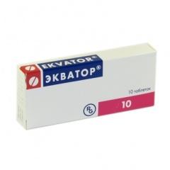 Таблетки Экватор - инструкция, отзывы, применение