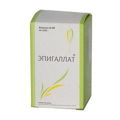 Эпигаллат 500 мг №120 капс цена 2140 руб в Москве, купить Эпигаллат 500 мг №120 капс инструкция по применению, отзывы в интернет аптеке
