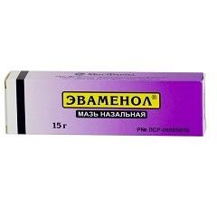 Эваменол 15,0 мазь назал - цена 68 руб., купить в интернет аптеке в Томске Эваменол 15,0 мазь назал, инструкция по применению, отзывы