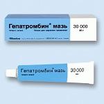 Гепатромбин применение