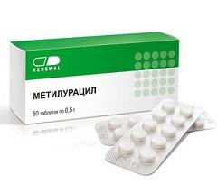 Метилурацил таблетки для чего назначают