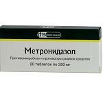 Метронидазол - инструкция, применение, отзывы