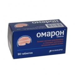 Таблетки омарон от чего и их применение