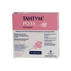 Тантум роза – инструкция по применению, дозы, показания