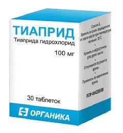 Тиаприд: инструкция по применению, цена и отзывы