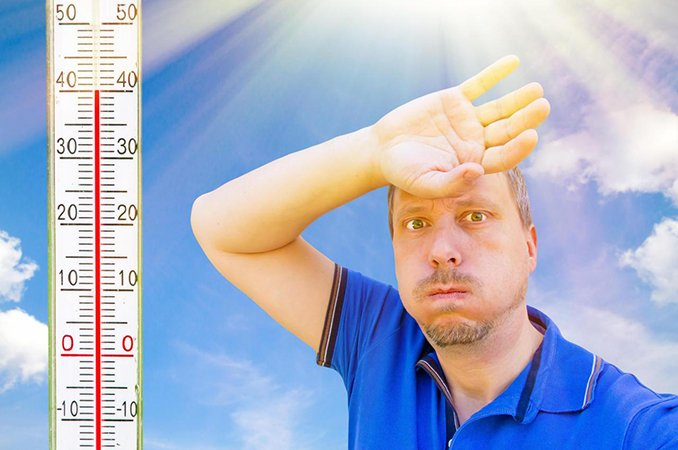 Солнечный удар или тепловой удар — симптомы признаки и первая помощь