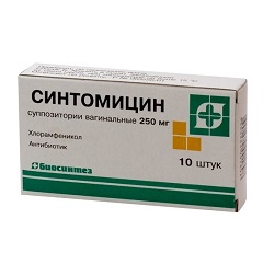 Синтомицин инструкция